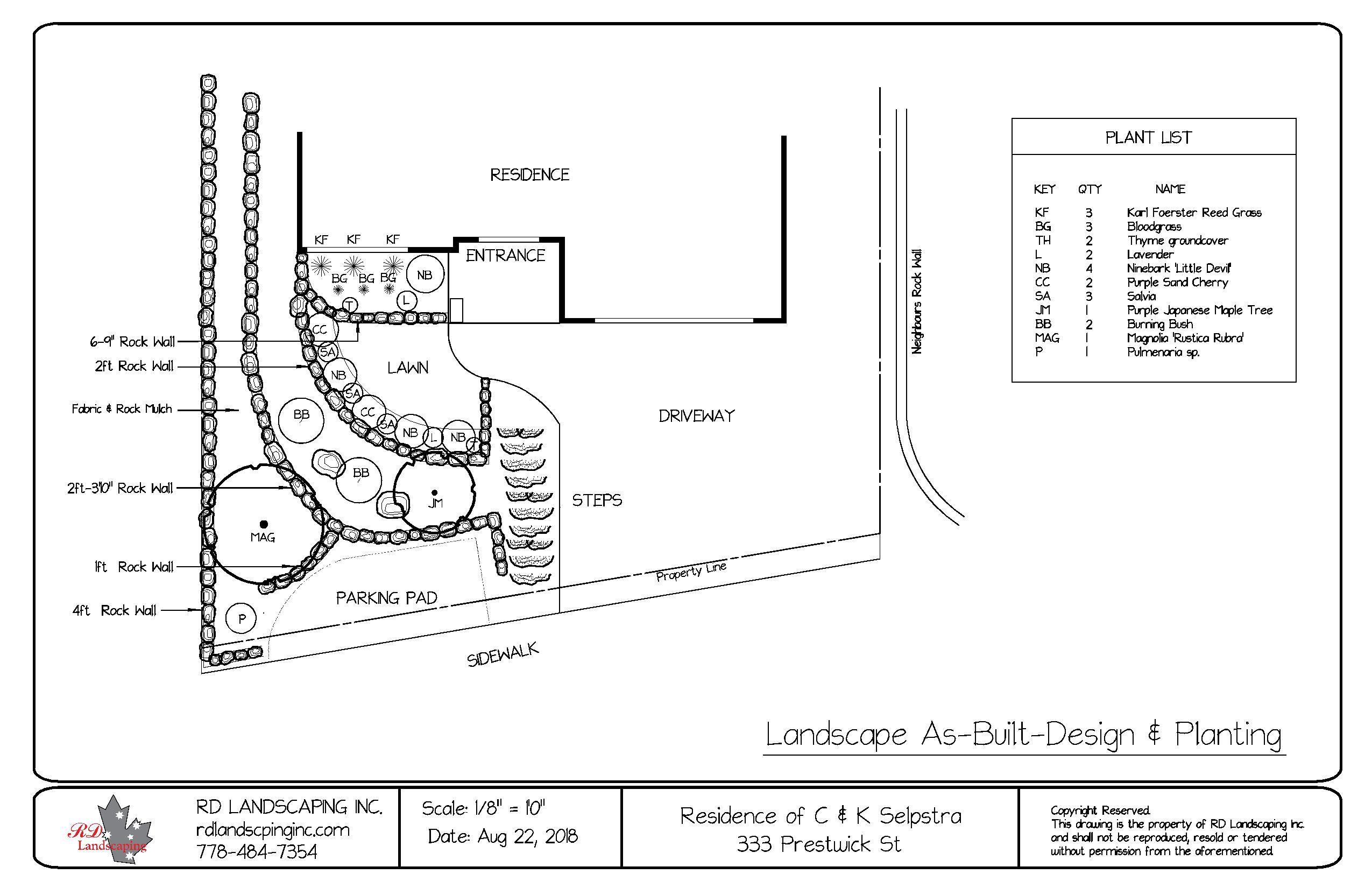 333 Pretwick St-Landscape as-built-page-001