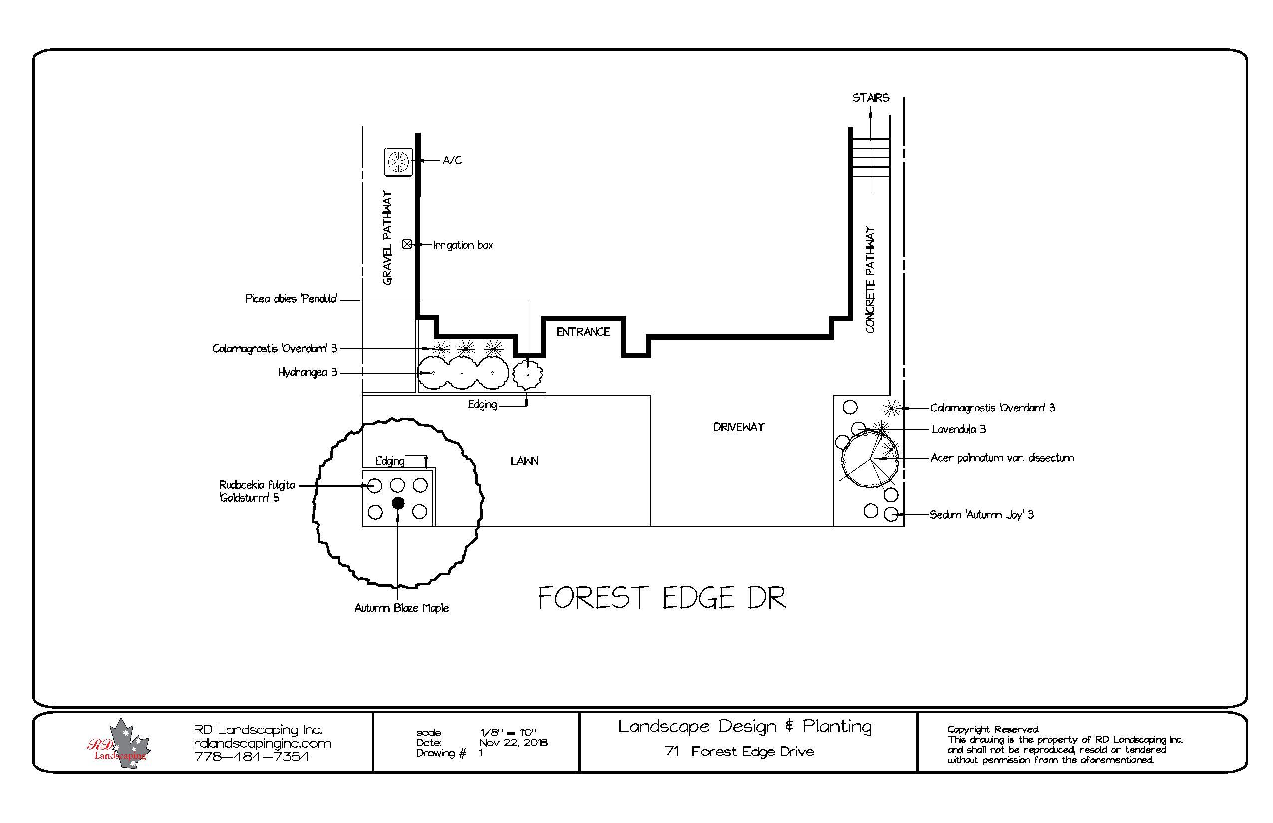 71 Forest Edge Dr-Landscape As-Built (1)-page-001